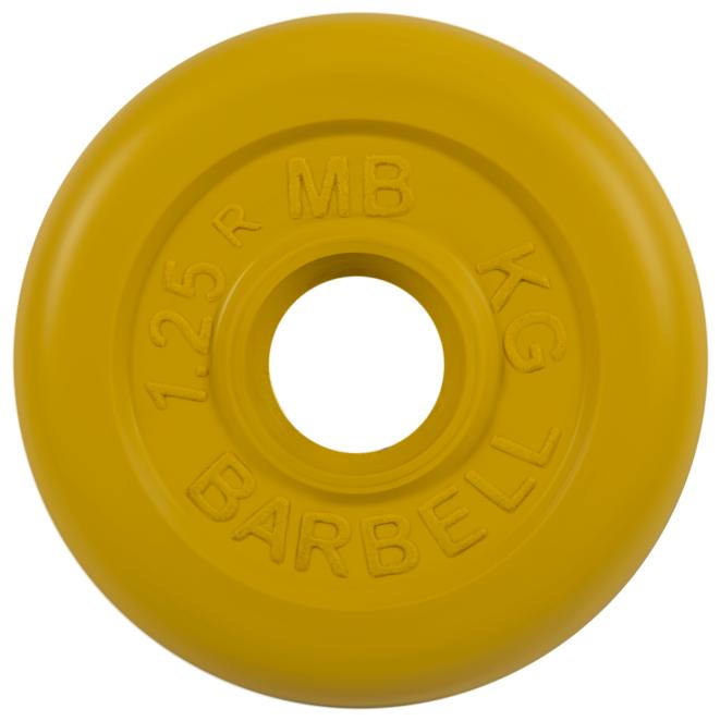 Диск MB Barbell Стандарт MB-PltC31 1.25 кг