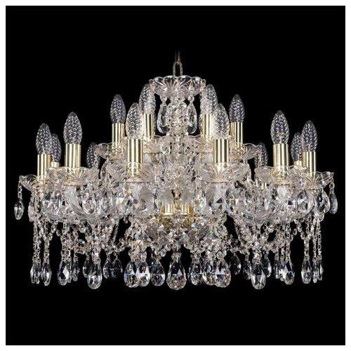 Фото - Люстра Bohemia Ivele Crystal 1413 1413/12+6/220/G, E14, 720 Вт люстра bohemia ivele crystal 1413 18 400 g e14 720 вт