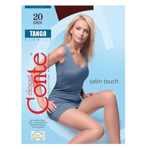 Колготки Conte Elegant Tango, 20 den, размер 3, Mocca (коричневый)