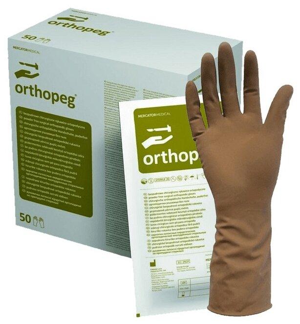 Перчатки хирургические Mercator Medical Orthopeg
