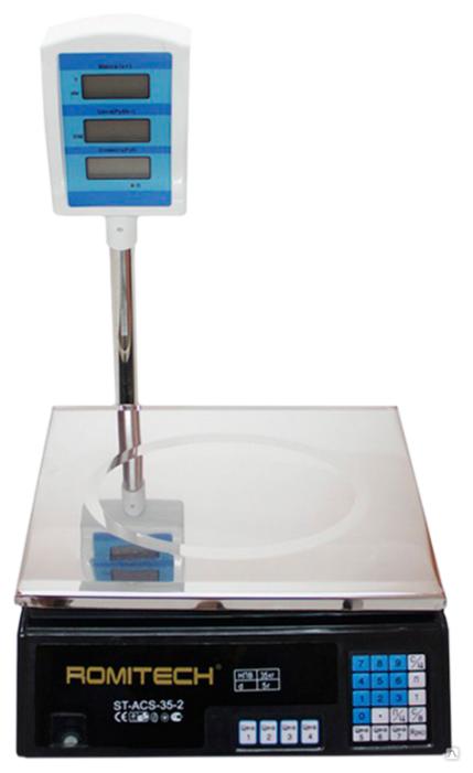 Весы торговые Romitech ST-ACS-35-2