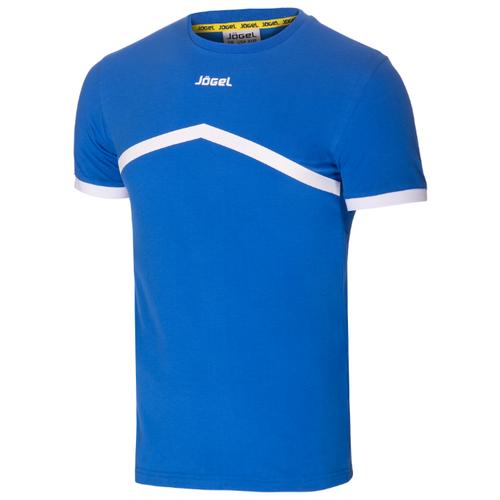 Купить Футболка Jogel JCT-1040 размер YL, синий/белый, Футболки и топы