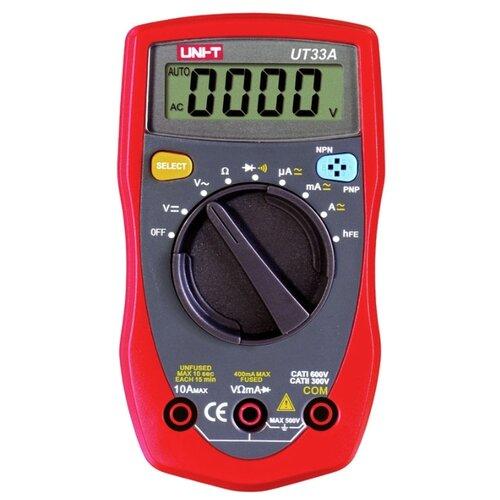 Мультиметр цифровой UNI-T UT33A мультиметр цифровой uni t ut33b