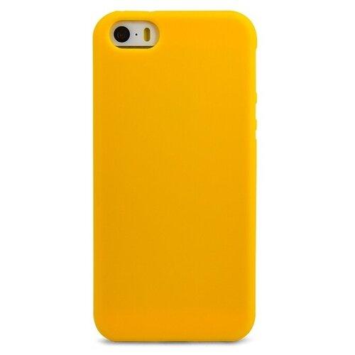 Купить Чехол Pastila TPU Matte для Apple iPhone 5/iPhone 5S/iPhone SE желтый