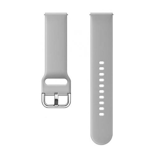 Samsung Ремешок для Galaxy Watch (42 мм) / Galaxy Watch Active (спортивный) серый