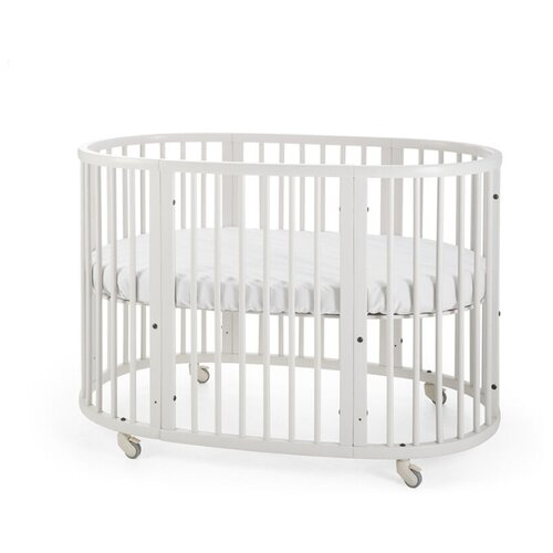 Кроватка Stokke Sleepi (трансформер) белый кроватка jakomo teo 7 в 1 трансформер белый