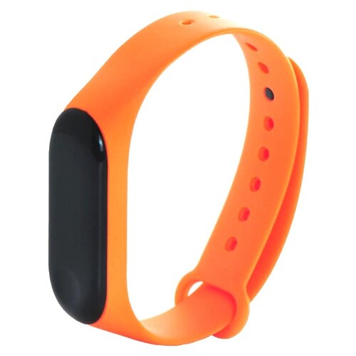 Gurdini Ремешок силиконовый для Xiaomi Mi Band 3 оранжевый