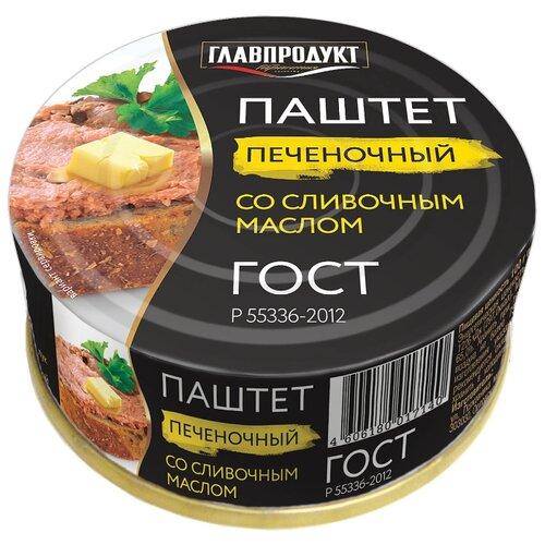 цена на Паштет Главпродукт Печеночный со сливочным маслом 100 г