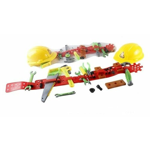 Shantou Gepai Набор игрушечных инструментов с каской и поясом SY992-1/2