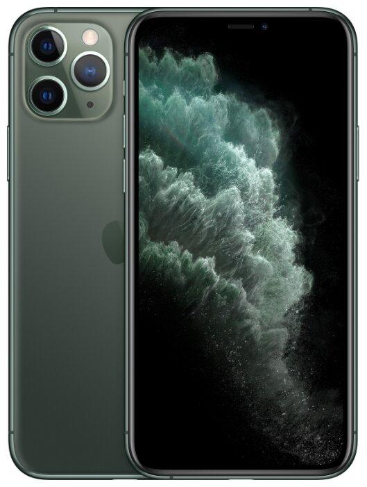 Смартфон Apple iPhone 11 Pro 64GB темно-зеленый (MWC62RU/A) - Характеристики - Яндекс.Маркет
