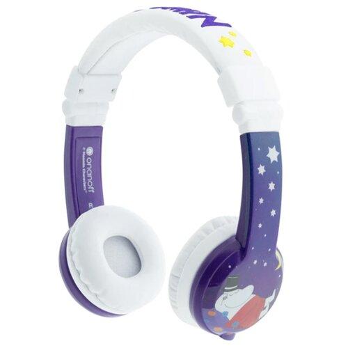 Наушники Onanoff BuddyPhones Moomin purple