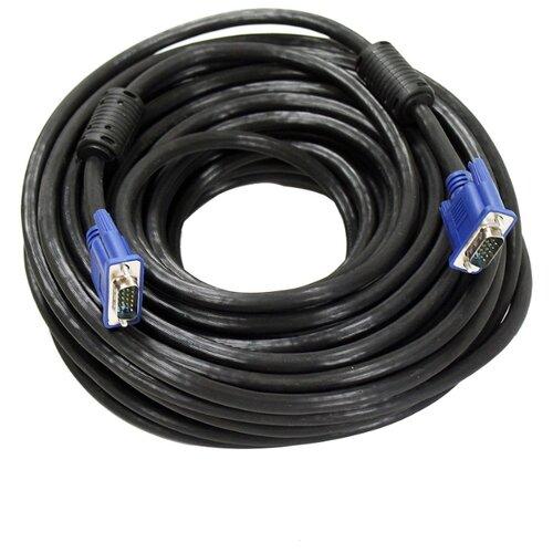 Купить Кабель Aopen SVGA - SVGA (ACG341AD) 20 м черный