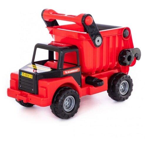 Купить Грузовик Полесье Mammoet (77325) красный/черный, Машинки и техника