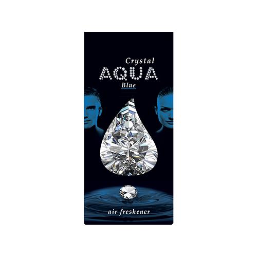 Aqua Ароматизатор для автомобилей Crystal Drop Blue 12 г