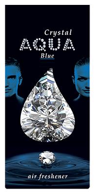 Aqua Ароматизатор для автомобилей Crystal Drop Blue