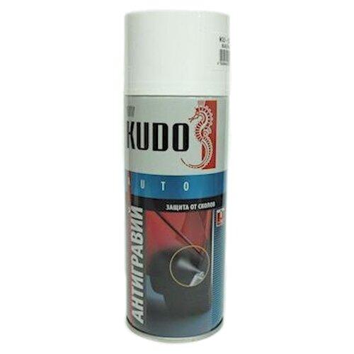 Жидкий антигравий KUDO KU-5221-5223 белый 0.52 л баллончик