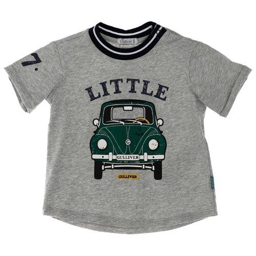 Купить Футболка Gulliver Baby размер 86, серый, Футболки и рубашки