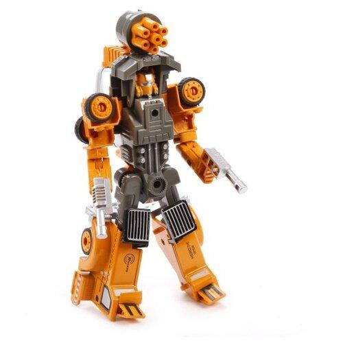Купить Робот Shantou Gepai Justice Hero SY6078B-3 оранжевый/серый, Роботы и трансформеры
