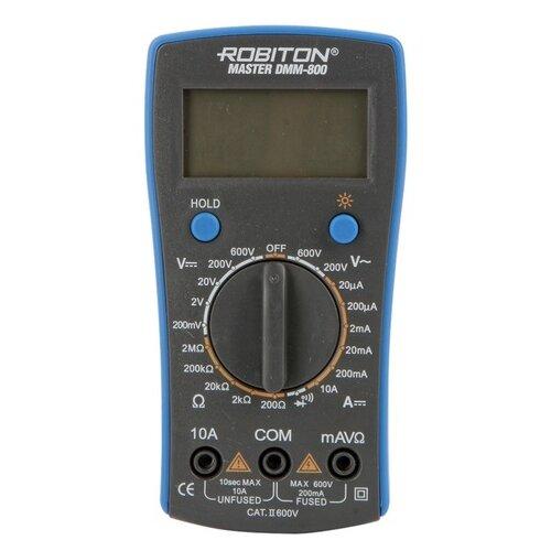 Мультиметр цифровой ROBITON DMM-800