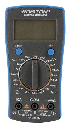 Мультиметр цифровой ROBITON DMM 800