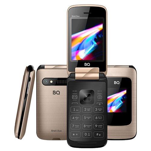 Телефон BQ 2814 Shell Duo, золотистый мобильный телефон bq 2814 shell duo gold