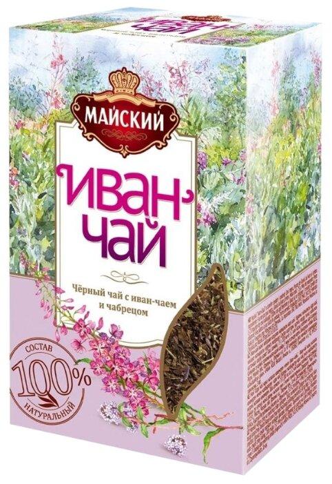 Чай черный Майский Иван-чай с чабрецом — купить по выгодной цене на Яндекс.Маркете