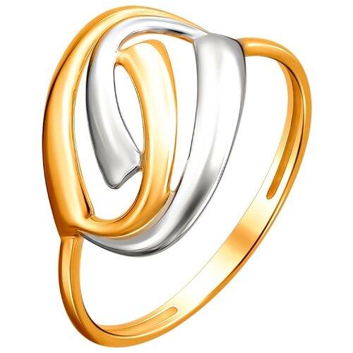 Эстет Кольцо из красного золота 01К0112303Р, размер 17 ЭСТЕТ