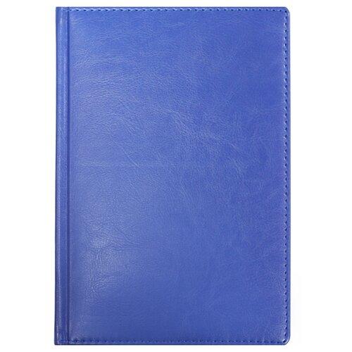Ежедневник Listoff Classic недатированный, искусственная кожа, А5, 152 листов, серо-голубой ежедневник а5 152л недатированный listoff classic иск кожа сиреневый