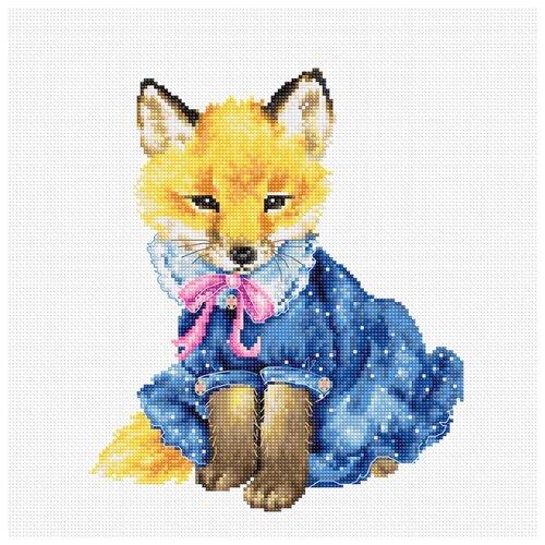 Купить Luca-S Набор для вышивания Лиса 17, 5 x 20, 5 см (B1136), Наборы для вышивания