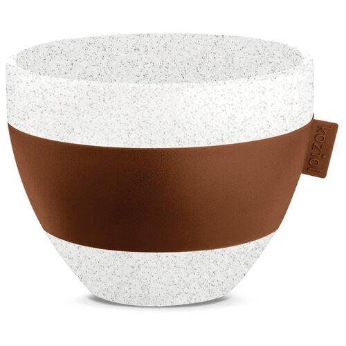 Чашка с термоэффектом Koziol AROMA M Organic 270 мл коричневая (3571674)