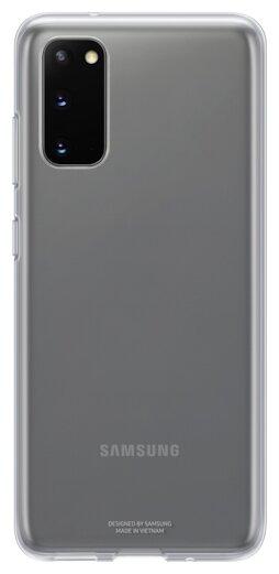Чехол-накладка Samsung EF-QG980 для Galaxy S20, Galaxy S20 5G — купить по выгодной цене на Яндекс.Маркете