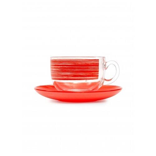 Фото - Чайный набор БРАШМАНИЯ РЕД 12 предметов 220мл чайный набор luminarc брашмания оранж 12 предметов 220мл p8984