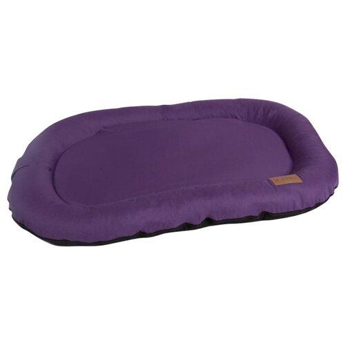 цена Лежак для собак Katsu Pontone Kasia XL 117х86 см фиолетовый онлайн в 2017 году