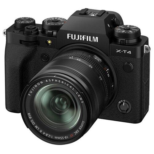 Фото - Фотоаппарат Fujifilm X-T4 Kit black Fujinon XF 18-55mm F2.8-4 R LM OIS цифровой фотоаппарат fujifilm x pro3 body dr silver