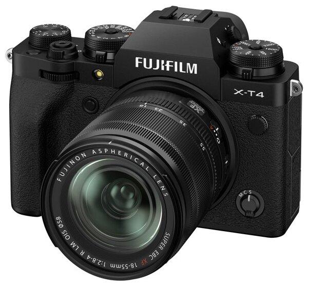 Фотоаппарат Fujifilm X-T4 Kit black Fujinon XF 18-55mm F2.8-4 R LM OIS фото 1