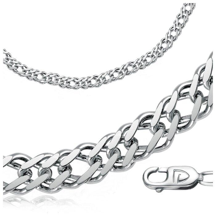 Бронницкий Ювелир Цепь из серебра 310900501, 50 см, 15.4 г