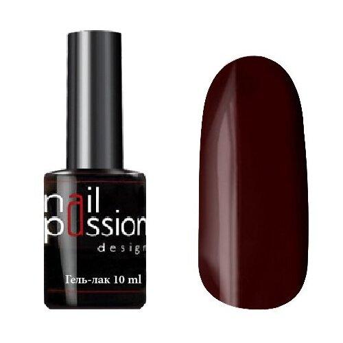 Гель-лак для ногтей Nail Passion Классический люкс, 10 мл, оттенок 1103 Марон