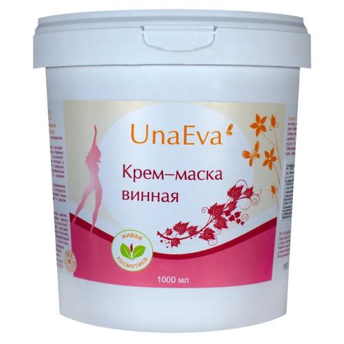Unaeva маска винная для обертывания для лица и тела 1000 мл