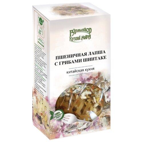 Гурмайор Пшеничная лапша с грибами шиитаке 220 гСмеси для супов и гарниров<br>