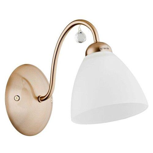 Настенный светильник Alfa Amarillo Patyna 23750, 60 Вт недорого