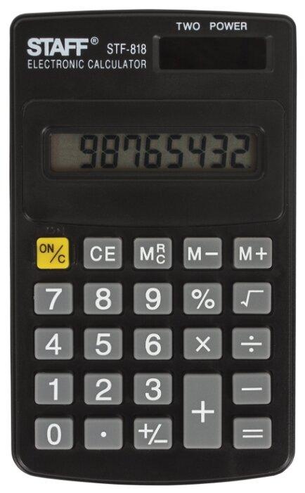 Калькулятор карманный STAFF STF-818
