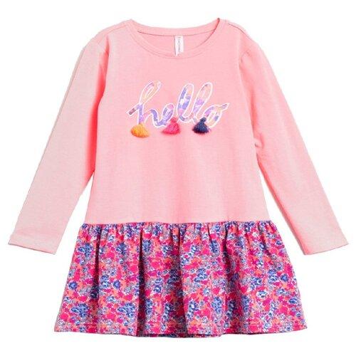 Платье COCCODRILLO размер 122, розовый