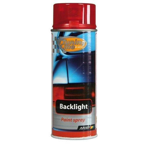 Аэрозольный автомобильный лак MOTIP Tuning Line Backlight Red 0261 400 мл