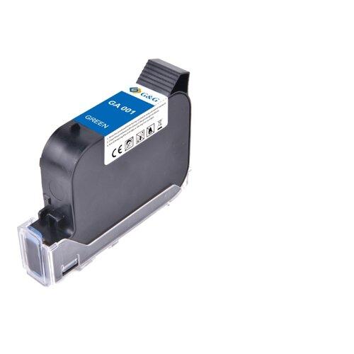 Фото - GA-001G струйный пигментный зеленый картридж для принтеров GG-HH1001B, GG-HH1001A, 42 ml клей аквенс ga 6642 gel aquence ga 6642 gel 20 кг