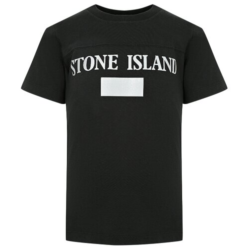 Фото - Футболка Stone Island размер 128, черный брюки stone island размер 128 зеленый