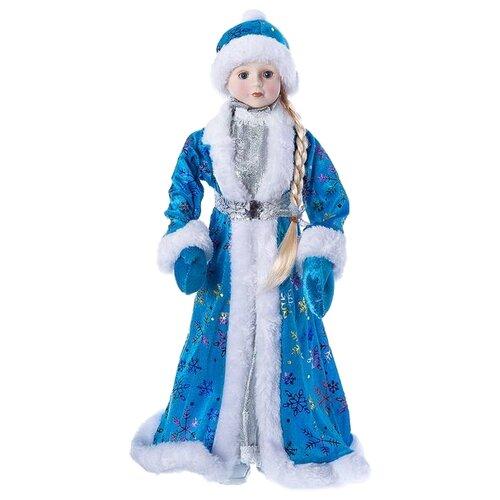 Фигурка SNOWMEN Снегурочка 46 см голубой/синий