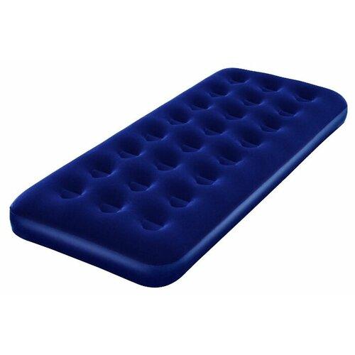Надувной матрас Bestway Flocked Air Bed 67000 синий