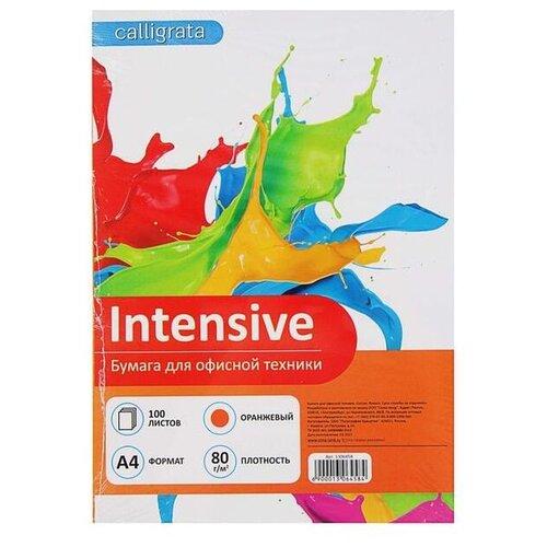 Фото - Бумага Calligrata A4 Intensive 80 г/м² 100 лист. оранжевый 1 шт. лобзик metabo sta18ltx100 601002890