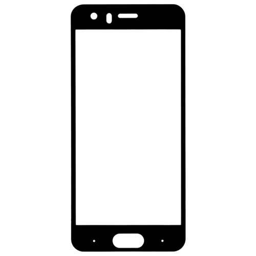 Защитное стекло Gosso FULL SCREEN для Huawei Honor 7C/Honor 7A Pro черный  - купить со скидкой