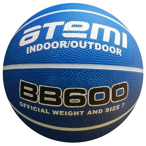 Баскетбольный мяч ATEMI BB600, р. 7 белый/синий